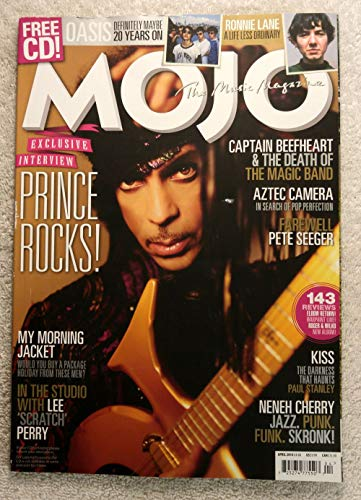 Prince Rocks! - Exclusive Interview - Mojo Magazine - Issue #245 - April 2014 - Captain Beefheart, Aztec Camera, The Death of Pete Seeger, Paul Stanley (KISS), Neneh Cherry articles