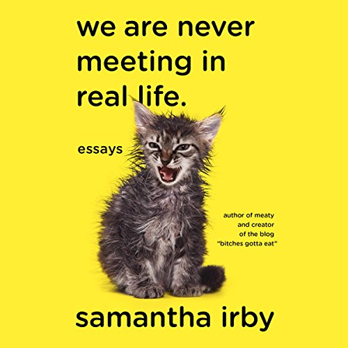 We Are Never Meeting in Real Life: Essays cover