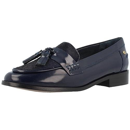 Mocasines para mujer, color Azul , marca MARTINELLI, modelo Mocasines Para Mujer MARTINELLI YOLANDA 674-6597C Azul: Amazon.es: Zapatos y complementos