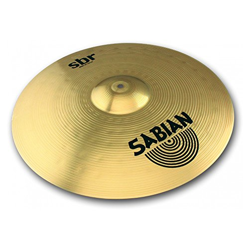 Cymbals Ride Drum (Sabian SBR2012 SBR Series Pure Brass 20-Inch Ride Cymbal)