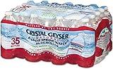 crystal geyser - Crystal Geyser Natural Alpine Spring Water, 16.9 Ounce (35 Bottles)