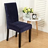 TDLC The American minimalist home stretch Twin hotel dining tables and chairs back chair seat upholstery package stool upholstery covers the plush navy blue