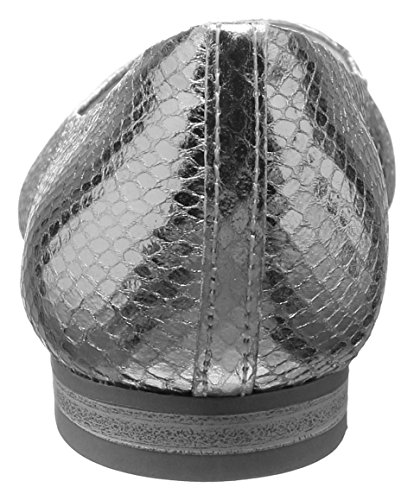 Donna Marco Ballerine 22103 Argento Tozzi Struct Silver 927 fRTR68