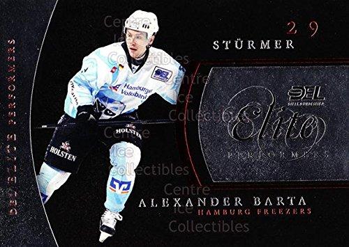(CI) Alexander Barta Hockey Card 2009-10 German DEL Premium Elite Performers 4 Alexander Barta (City Single 2009 Elite)