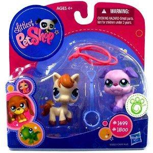 (Littlest Pet Shop 2010 Exclusive Collectible Figure Horse)