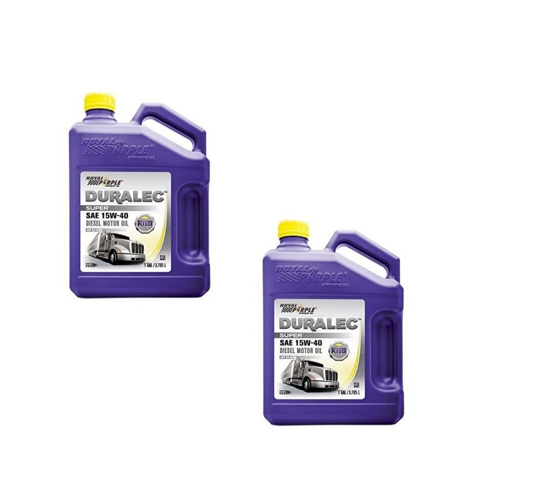 Royal Purple 04154 API-Licensed SAE 15W40 High Performance Synthetic Motor Oil - 1 Gallon Each (Case of 2)