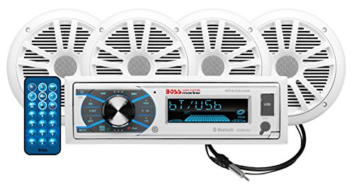 marine bluetooth stereo package - 4