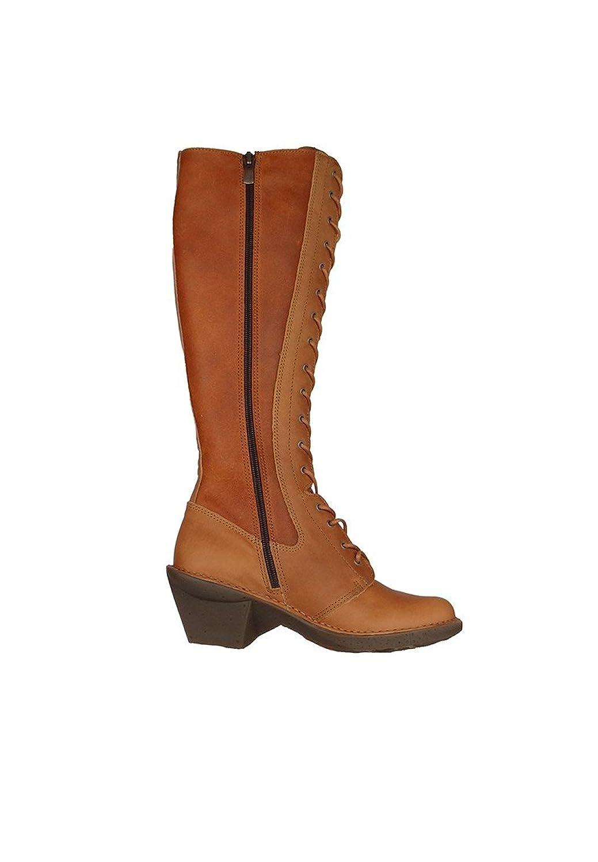 Art Damen Leder Langschaft Stiefel Oteiza Cuero Braun 0647: Amazon.de:  Schuhe & Handtaschen