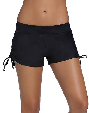 grande vente d1ceb 9f9bc Lau's Shorts de femme plage - bas de maillots bikini short ...