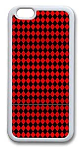IMARTCASE iPhone 6 Case, Black Diamond Pattern iPhone 6 Plus Case TPU White by mcsharksby Maris's Diary