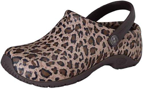 Anywear Women's Zone Clog Leopard Cherokee Swq0q