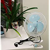 Desk Office Supplies Fan Wall Mount Multi Use Plant Oscillating Stand Up Clip On 110V 7 2 Speed - Skroutz