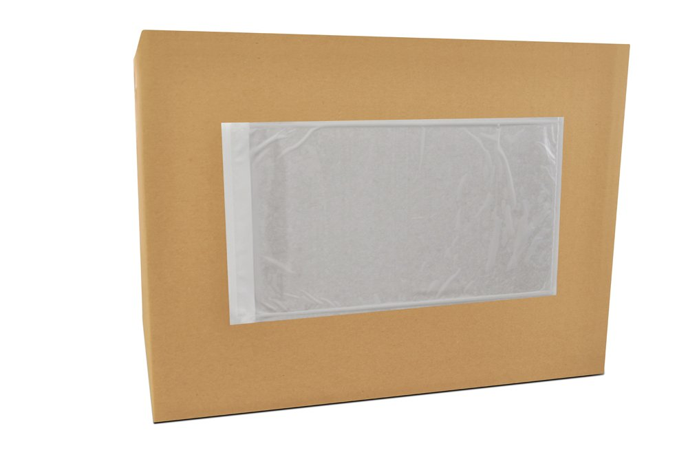 5.5'' x 10'' Packing List Back Side Loading Plain Face Envelopes Pouches (1000 pcs) by PackagingSuppliesByMail (Image #1)