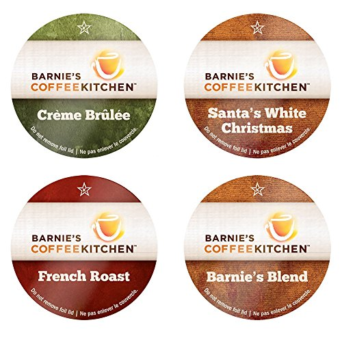 Barnie's Coffee Kitchen Variety Pack Single Serve Coffee Cups, 24 Count