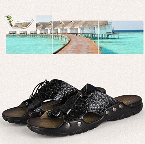 Personalidad Zapatillas Los De Hombres A cordón Playa Deslizadores Moda q0wBFRfF