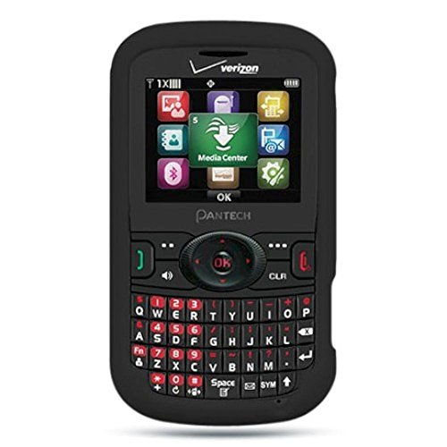 Pantech Caper Case, Dreamwireless Rubberized Hard Snap-in Case Cover For Pantech Caper, ()