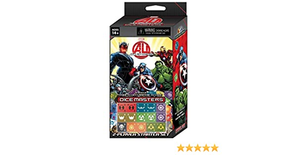 Marvel Dice Masters:avengers Age Of Ultron Starter
