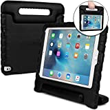 Cooper Dynamo [Rugged Kids CASE] Protective Case for iPad Pro 9.7, iPad Air 2 | Child Proof Cover with Stand, Handle | A1673 A1674 A1566 A1567 (Black)