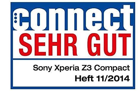Sony Xperia Z3 Compact - Smartphone libre Android (pantalla 4.6