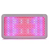 Morsen 200Leds 600W Full Spectrum Medical Flower Plants LED Grow Light Panel UV IR 9band