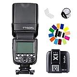 Godox TT685S GN60 TTL HSS Speedlites + X1TS Wireless Trigger Slave/Master Camera Flash Kit for Sony A77II, A7RII, A7R,A58, A99, ILCE6000L