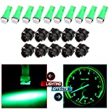 honda 1993 accord parts - CCIYU 20X T5 Green Led 1-5050 SMD Dashboard Dash Gauge Instrument Panel Gauge Cluster Light