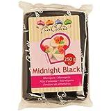 FunCakes mandelhaltige Zuckermasse Midnight Black, 1er pack (1 x 250g)