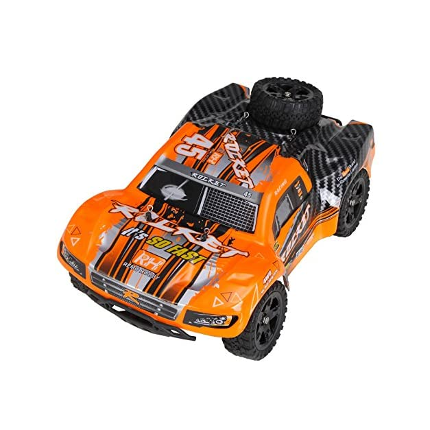 Cheerwing REMO Rocket RC Truck 1:16 2.4Ghz 4WD Remote Control Car High Speed Off-Road Short Course Truck