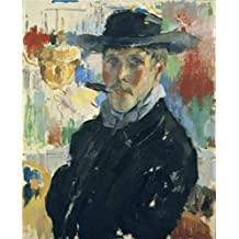 Oil Painting 'Rik Wouters - Self Portrait With Cigar, 1914' Printing On Perfect Effect Canvas , 20x25 Inch / 51x63 Cm ,the Best Kitchen Artwork And Home Gallery Art And Gifts Is This Replica Art DecorativeCanvas Prints