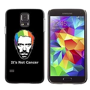 TopCaseStore / la caja del caucho duro de la cubierta de protección de la piel - Its Not Cancer House - Samsung Galaxy S5 SM-G900
