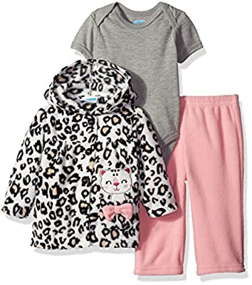 BON BEBE Baby Girls' 3 Piece Microfleece Jacket Set by Bon Bebe Children's Apparel that we recomend individually.