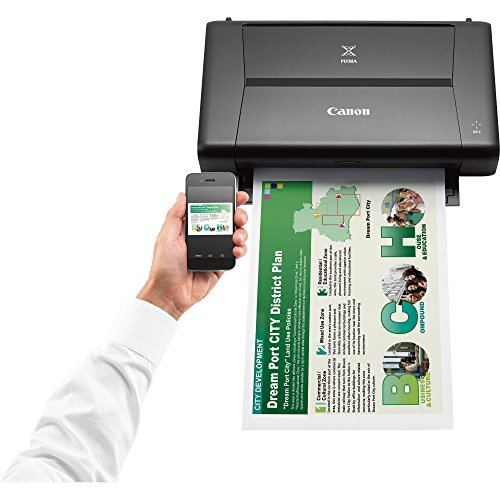 CANON PIXMA iP110 Wireless Mobile InkJet Printer w/ With Airprint(TM) And Cloud Compatible and Accessory Bundle with 6-Outlet Strip + USB Cable + Fibertique Cloth by Photo Savings (Image #2)
