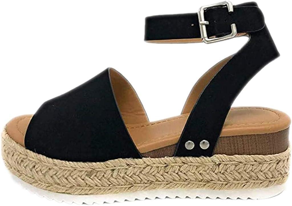 N UNI9UE Women's Platform Sandals Wedge