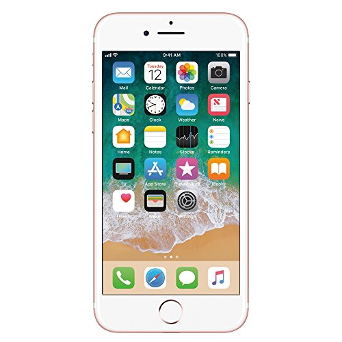 Apple iPhone 7 Celular 128 GB Color Rose Desbloquedado (Unlocked) Reacondicionado (Refurbished)