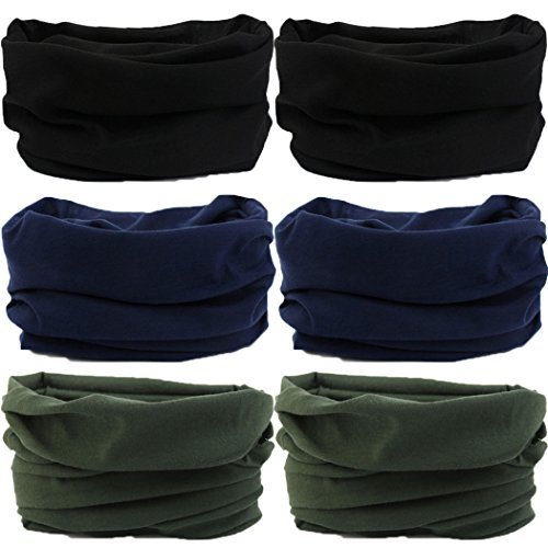 (Headwear,Head Wrap, Neck Gaiter, Headband, Fishing Mask, Magic Scarf, Tube Mask, Face Bandana Mask, Neck Balaclava and Sport Scarf 12 in 1 Headband Sweatband for Fishing, Hiking, Running, Motorcycling)