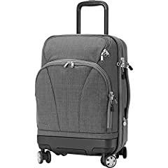 UPDATED DESIGNbrIn response to customer feedback, this product was updated in 2019 to be more lightweight user-friendly. Please see the updated Product Features, Images and Product Specifications.brbrThe TLS Hybrid Spinner Carry-On was create...