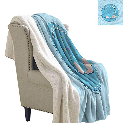 AndyTours Lamb Duvet Sweet Dreams Newborn Baby Stars Upgraded Thick Lazy Blanket Blanket W59 x L78