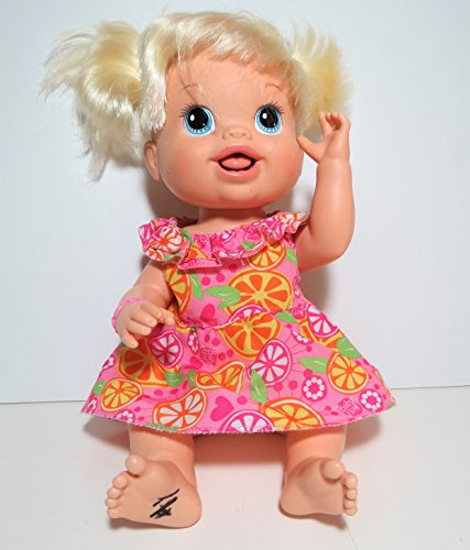Baby Alive New Teeth and Sip and Wet Doll Year 2010 for sale  Delivered anywhere in USA
