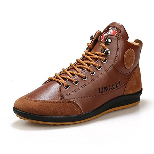 Cricket Schnüren Flascher Herren Sneaker Hellbraun Mode Schuhe Absatz Go Easy Freizeit Shopping pqwxzgwX