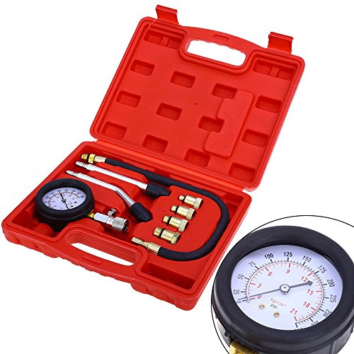 KAHE Products Compression Gauge Test Set for Engine Cylinders Diagnostic Tester by TFCFL