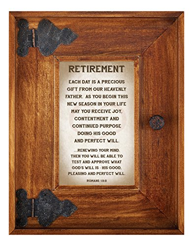 LoveLea Down Home Collection Tabletop Frame, Retirement by CB Gift