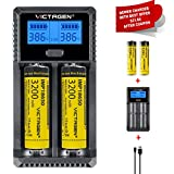 Best  - Victagen Universal Battery Charger,LCD Display Rapid Charger Review