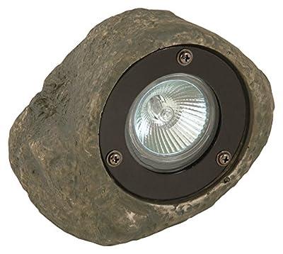 Moonrays 95828 Low Voltage Rock Spotlight Path Light, 20-Watt