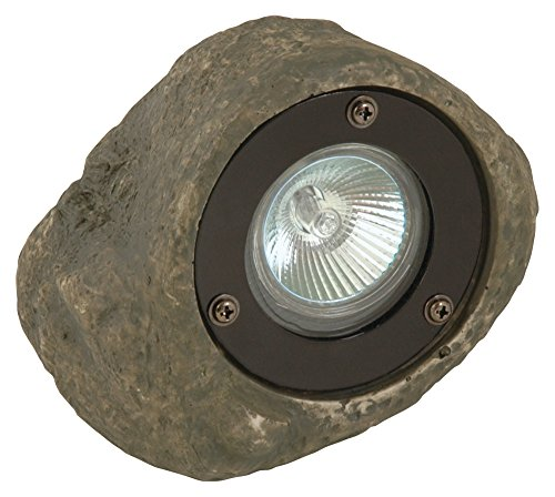 (Moonrays 95828 CL10 Low Voltage Landscape Rock Spotlight, 20-Watt)