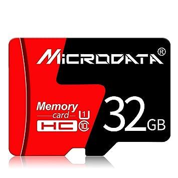 Tarjeta De Memoria + Adaptador SD, Micro SD Clase 10 Tarjeta ...