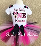Minnie Mouse 1st Birthday Custom Outfit Tutu Set