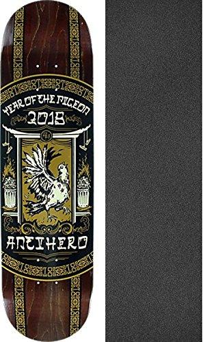 発症最初は列車Anti Hero Skateboards Year of the Pigeonスケートボードデッキ – 8.43