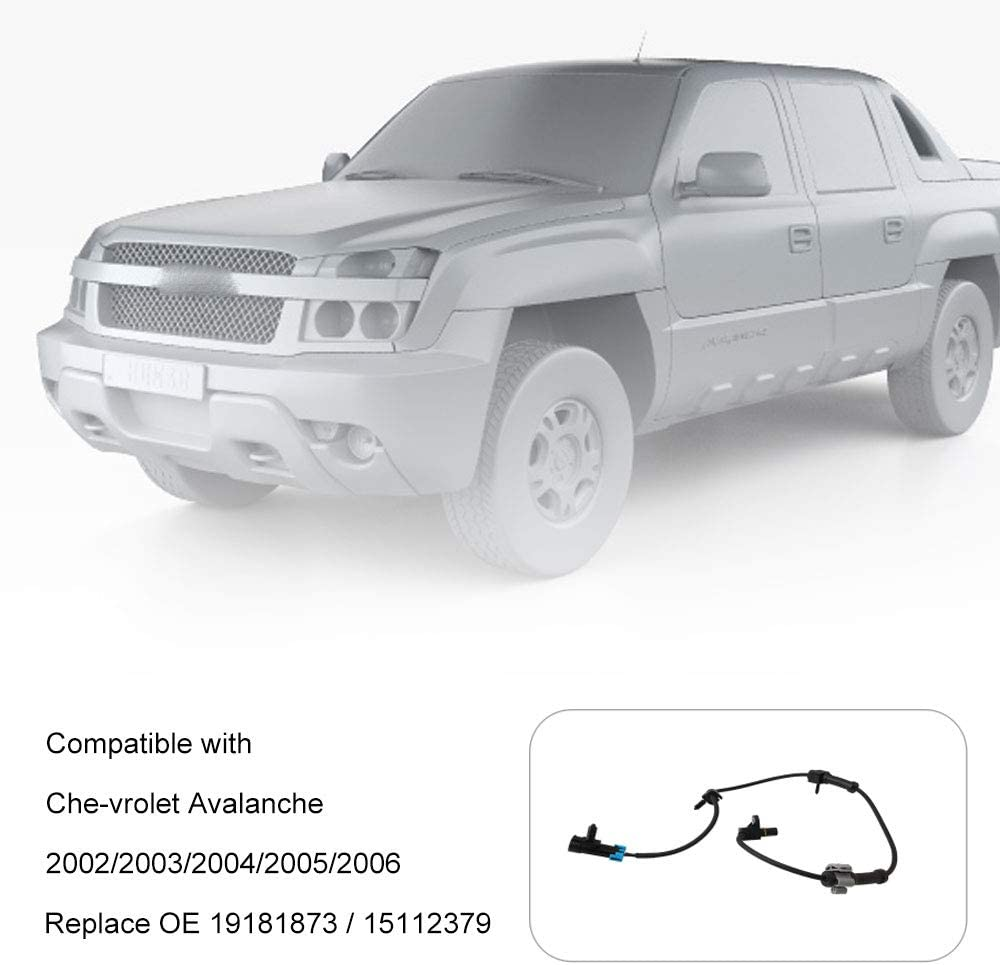 Automotive Sensors ABS Wheel Speed Sensor Compatible with Che ...