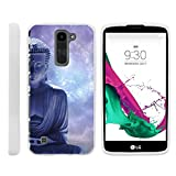 Case for LG K7 , [ Flex Force ] Flexible Glove like Protection Unique Galaxy Collection for Tribute 5 by Miniturtle® - Purple Buddha