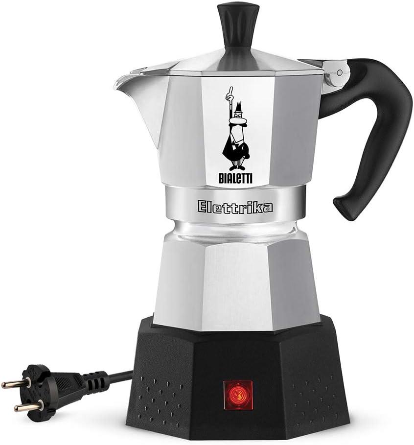 Bialetti Moka Elektrika, Cafetera espresso eléctrica de viaje (110 V / 230 V): Amazon.es: Hogar